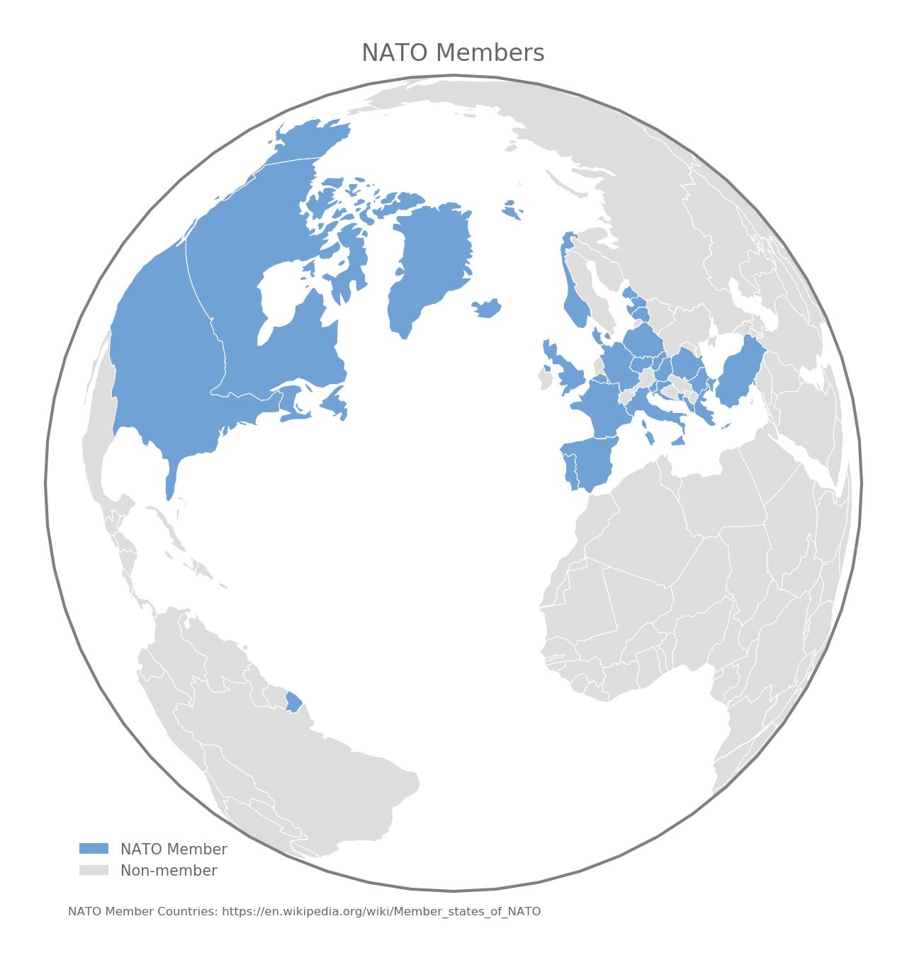 Highlighting Countries With Cartopy   Matthew Kudija