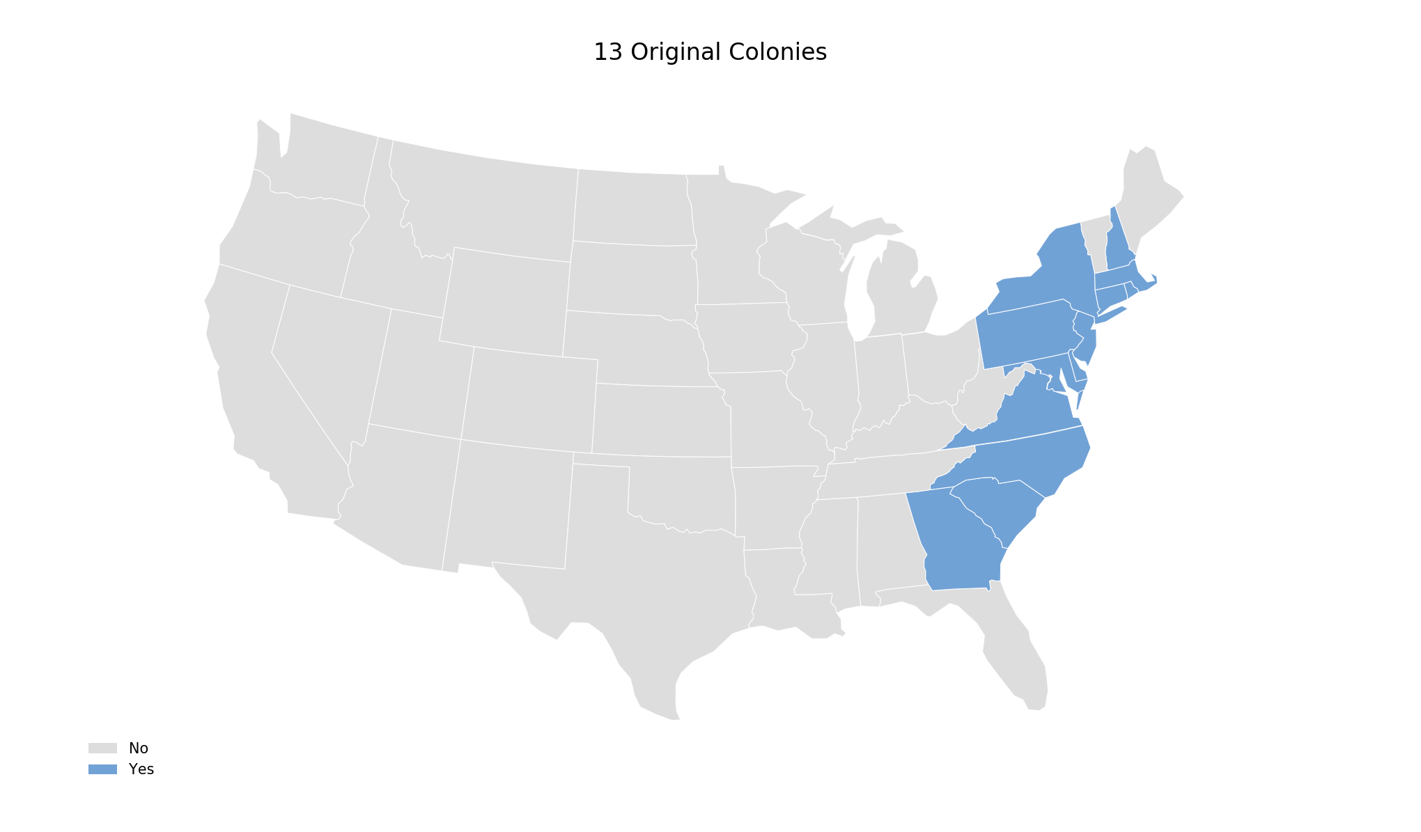 Highlighting States With Cartopy | Matthew Kudija